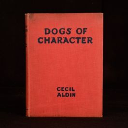 1928 Dogs of Character by Cecil Aldin Coloured Illustrations Second Edition Pets