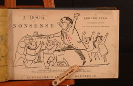 1863 A Book of Nonsense Edward Lear Fourteenth Edition Illustrated Humour