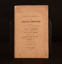 1887 A Charitable Remonstrance Wives and Maidens of France William Rooke LE 1st