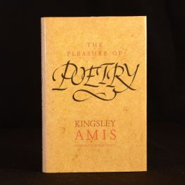 1990 The Pleasure of Poetry Kingsley Amis Signed Personalised Note