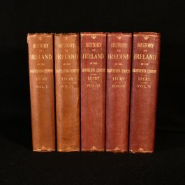 1892-9 A History of Ireland in the Eighteenth Century