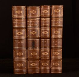 1851-9 4vol Some Account of Domestic Architecture in England The Conquest Turner