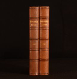 1862-1863 2vols Annual Report of the Board of Regents of the Smithsonian Institution