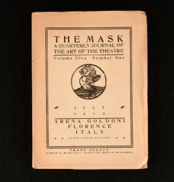 1912-27 The Mask a Quarterly Journal of the Art of the Theatre