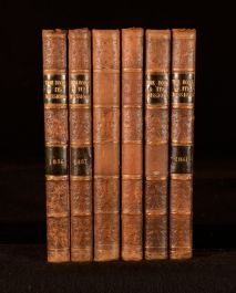 1856-61 6 Vols LNR The Book and Its Missions Religion Missionary Travel