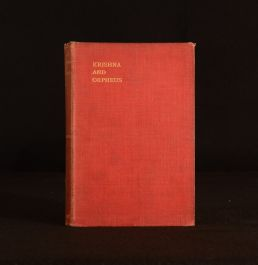 1904 Krishna and Orpheus The Great Initiates of the East and West Edouard Schure F Rothwell