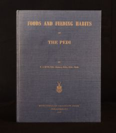 1959 Foods and Feedings Habits of the Pedi P. J. Quin Frontispiece First Edition