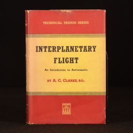 1950 Interplanetary Flight Arthur C Clarke Dustwrapper First Edition Astronautics