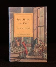 1995 Jane Austen and Food Maggie Lane First Edition Signed Viveash Gilson