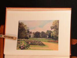 1909 Dutch Bulbs and Gardens Mima Nixon U. Silberrad S. Lyall Colour Plates 1st