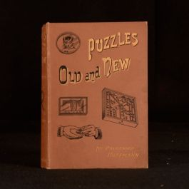1893 Puzzles Old and New Professor Hoffmann Angelo John Lewis Magic Conjuring