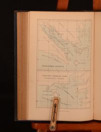 1868 2vol English Seamen Under the Tudors H. R. Fox Bourne Colour Maps