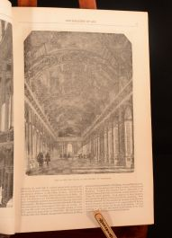 1852 2volin1 The Illustrated Exhibitor and Magazine of Art Cassell Great Exhibition Painting Sculpture Art