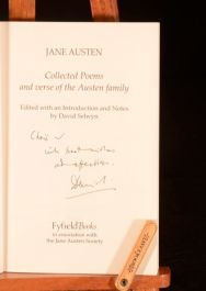 1996 Jane Austen Collected Poems Verse of the Austen Family David Selwyn Signed