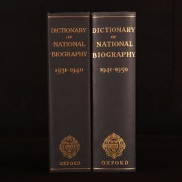 1959-70 2vols Dictionary of National Biography L. G. Wickham Legg George Smith