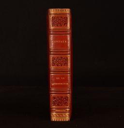 1827 De La Lithotritie Civiale Simier Royal Binding Bourbon Restoration 1st Ed