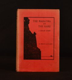 1911 The Mahatma and the Hare a Dream Story H. Rider Haggard Illustrated 1st