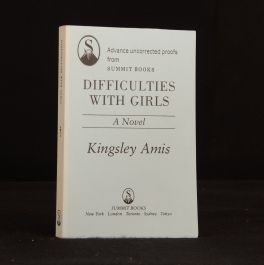 1988 Difficulties with Girls A Novel Advance Uncorrected Proofs Kingsley Amis