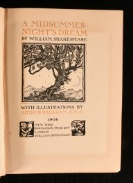 1908 A Midsummer-Night's Dream