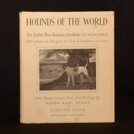1979 Hounds of The World Sir John Buchanan-Jardine Limited Ed Signed Dustwrapper