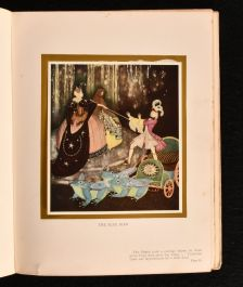 1916 Edmund Dulac's Fairy Book Fairy Tales of the Allied Nations