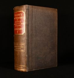 1885 Haydn's Dictionary of Dates and Universal Information