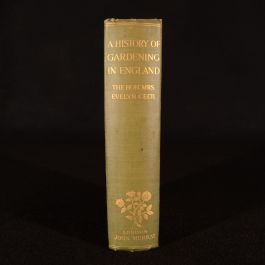 1910 A History of Gardening in England