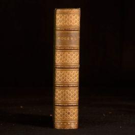 1891 The Poetical Works of Samuel Rogers Mudie Binding Edward Bell Memoir Poems