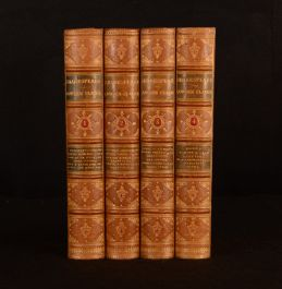 1869 4vol The Works of William Shakespeare Charles Clarke Mary Cowden Clarke