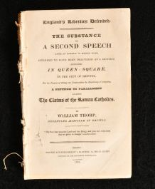 1829 England's Liberties Defended The Substance of A Second Speech