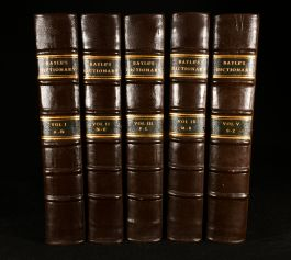 1734 The Dictionary Historical and Critical The Second Edition