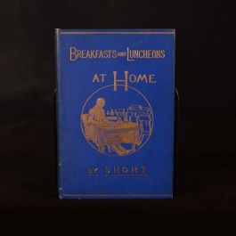 1880 Breakfasts and Luncheons at Home