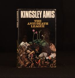 1966 The Anti-Death League First Edition Kingsley Amis Signed Military