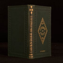1892 The Laws of Piquet Games Cavendish Henry Jones Cavendish Eighth Edition