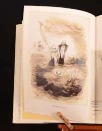 1983 Ronald Searle in Perspective First U.S Edition History Art Biography