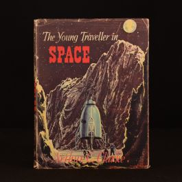1954 The Young Traveller in Space First Edition Dustwrapper Children's
