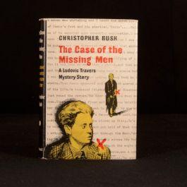 1945/6 The Case of The Missing Men Christopher Bush Thriller Detective Fiction