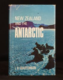 1971 New Zealand and the Antarctic L B Quartermain Illus 1st