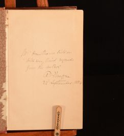 1884 The Scourge of Christendom Playfair First Edition Signed by Author Illustrated