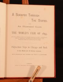 1892 A Scamper Through The States Illustrated Guide World's Fair of 1893 Chicago