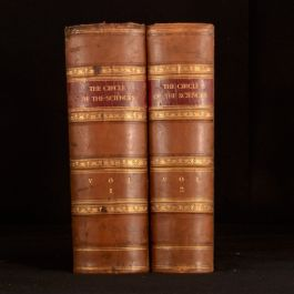 1862-7 2vol The Circle of the Sciences Lord Brougham James Wylde Experimental