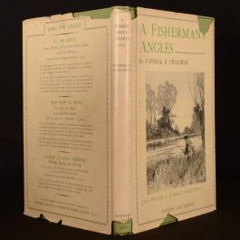 1931 A Fisherman's Angles Chalmers Wilkinson First Edition Dustwrapper Illustrated