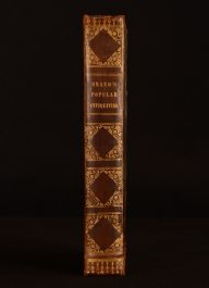 1810 Observations on Popular Antiquities Mr Bourne John Brand