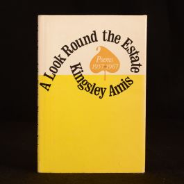 1968 A Look Round the Estate Kingsley Amis First US Edition Dustwrapper