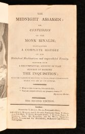 1802 The Midnight Assassin or Confession of the Monk Rinaldi
