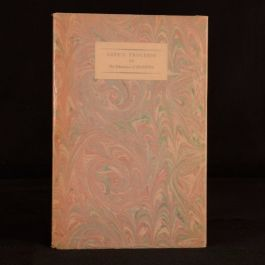 1929 Love's Progress or The Education of Araminta James Laver First Ed Nonesuch