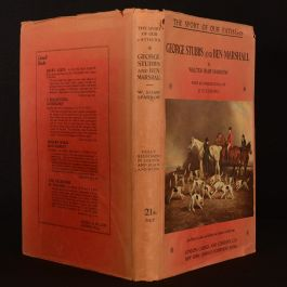 1929 Stubbs Marshall The Sport of our Fathers Sparrow First Edition Dustwrapper Illustrated