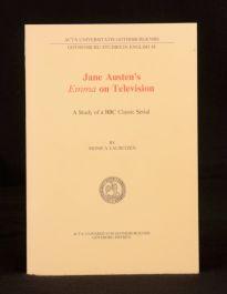 1981 Jane Austen's Emma on Television Monica Lauritzen Gothenburg Studies First