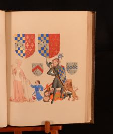 1845 This Rol Was Laburd & Finished by Master John Rows of Warrewyk