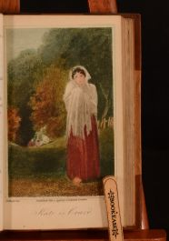1803 2vol Poems by William Cowper Poetry Illustrated Coloured Plates